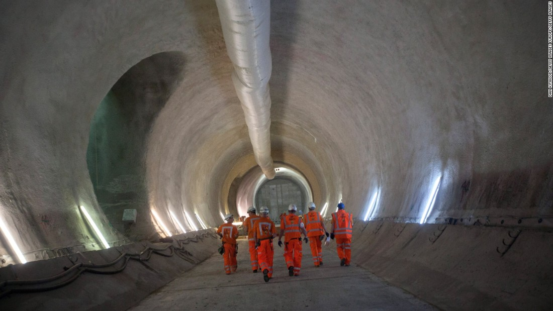 Crossrail is an addition to the London's burgeoning transport infrastructure, designed to modernize the UK's rail network and relieve pressure on existing transport, such as the 'Tube'.