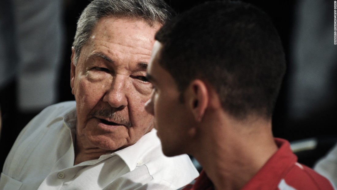 "In June 2010, on the 10th anniversary of Elian's return from Miami, Cuban President Raul Castro talks to him in a Havana church. After he graduates, Gonzalez told Cuban Communist Party daily Granma, he will join the Cuban military. ""Living here is a debt I owe to the Cuban people,"" Gonzalez said. ""That's who I will always work and fight for."""