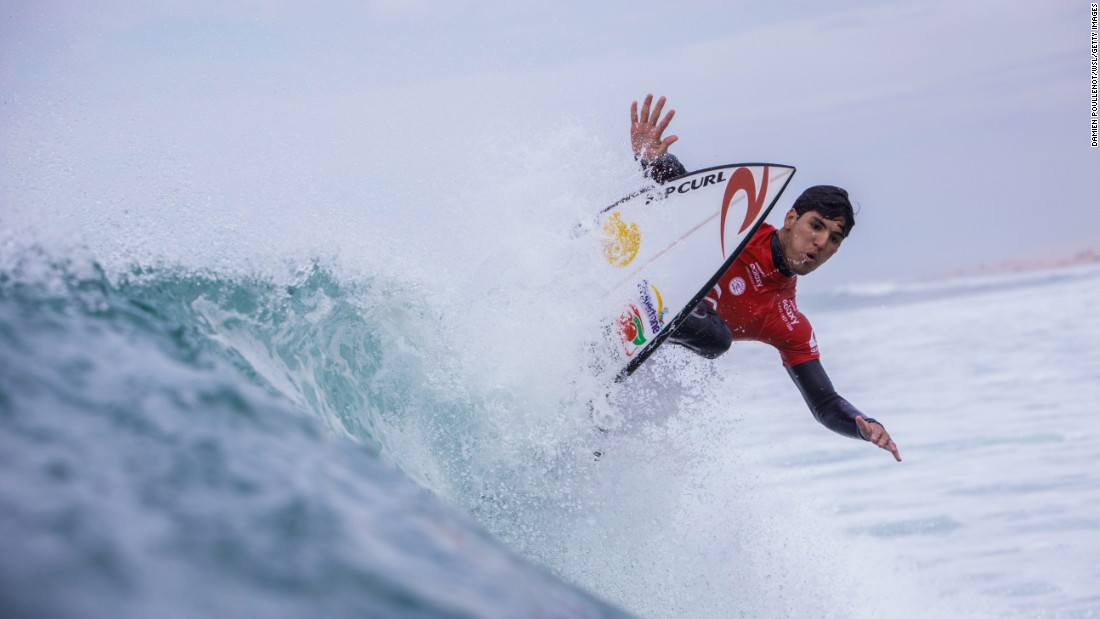 "Gabriel Medina competes in a World Surf League event in Hossegor, France, on Sunday, October 11. The Brazilian <a href=""http://www.worldsurfleague.com/posts/151220/gabriel-medina-france-10"" target=""_blank"">scored a perfect 10</a> during the fourth round."