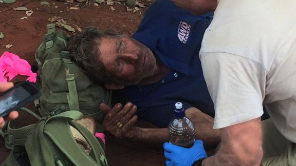 AUSTRALIA: MAN SURVIVES WILDERNESS BY EATING ANTS