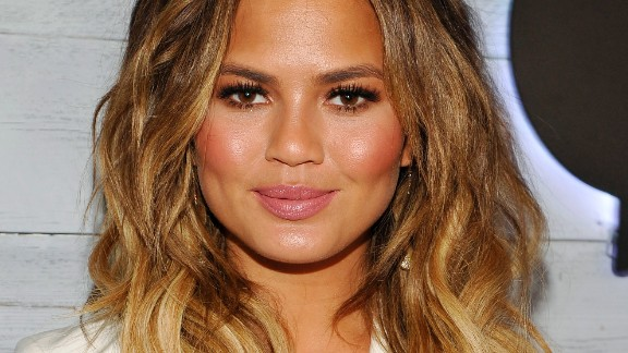 LOS ANGELES, CA - SEPTEMBER 24:  Model Chrissy Teigen attends the VIP sneak peek of the go90 Social Entertainment Platform at the Wallis Annenberg Center for the Performing Arts on September 24, 2015 in Los Angeles, California.  (Photo by John Sciulli/Getty Images for go90)