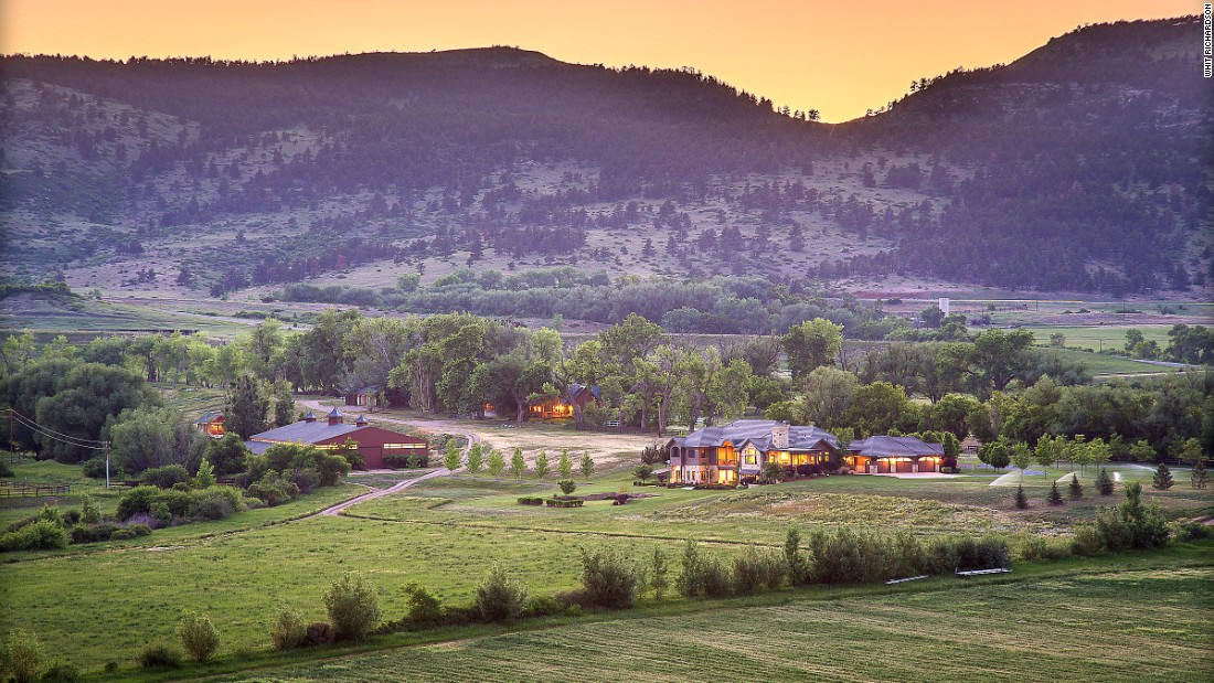 One of a number of affluent properties for sale in Colorado is 4 Rockin' G Ranch.
