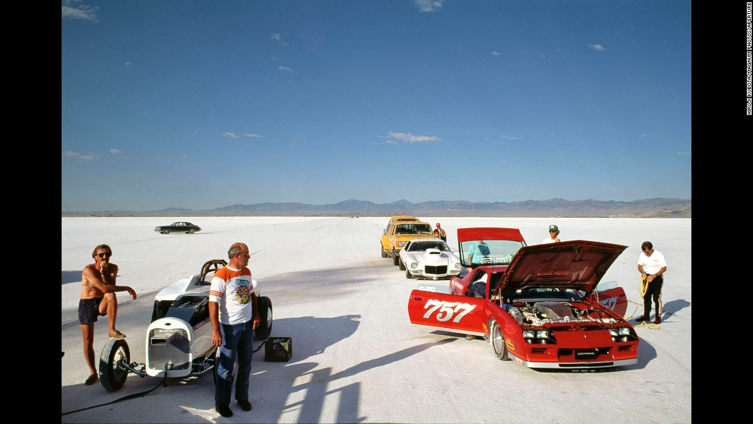 Kubota has traveled all over the world during a career spanning more than five decades. This image was shot in Utah's Salt Flats in 1989.