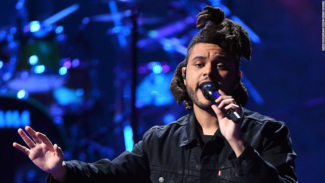 The Weeknd had a breakout year in 2015. His AMA nominations include artist of the year, song of the year and best new artist.