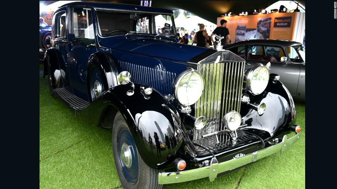 Rare cars worth millions on show - CNN Style