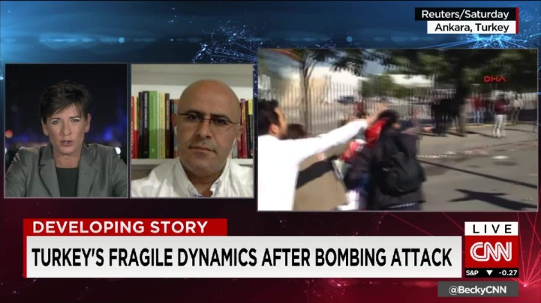 Turkey's fragile dynamics after bombing attack