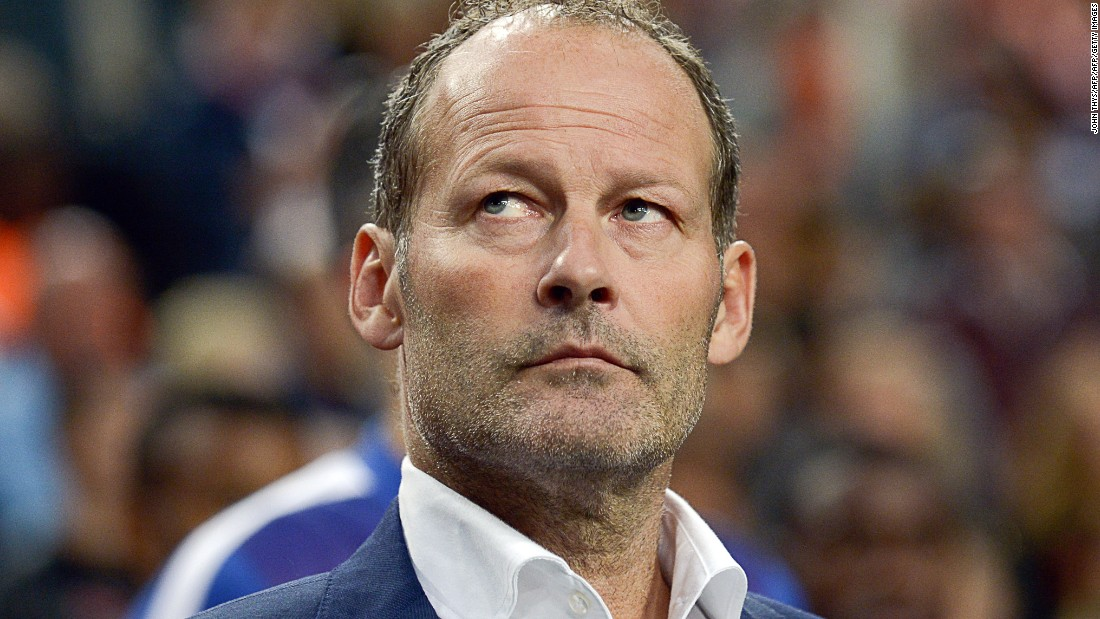 Danny Blind, who was Hiddink's assistant, took over in July in a bid to salvage the qualification campaign. Blind won 42 caps during a 20-year playing career with Ajax and Sparta Rotterdam, and also managed Ajax. He has vowed to remain in charge.