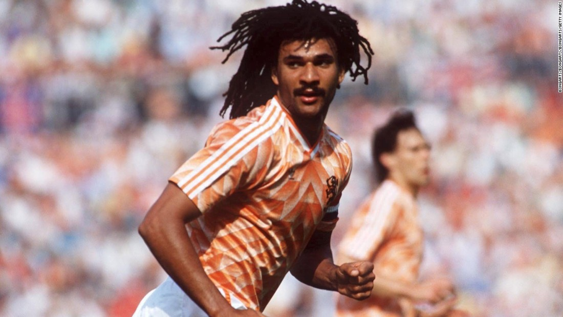 Ruud Gullit was one of the key men behind the nation's triumph at the 1988 European Championship finals. Marco van Basten's iconic strike sealed a 2-0 win over USSR in the final.