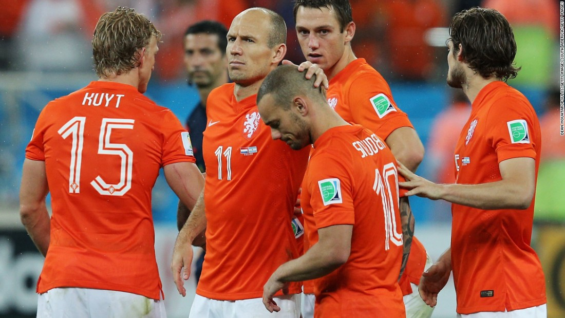 In 2014, Netherlands reached the semifinals of the World Cup where it was beaten on penalties by Argentina. It had started the campaign by thrashing reigning champion Spain 5-1.