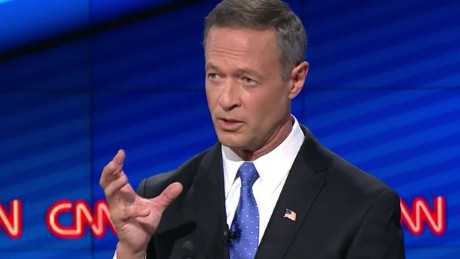 martin o'malley democratic debate baltimore mayor record 7_00015704.jpg