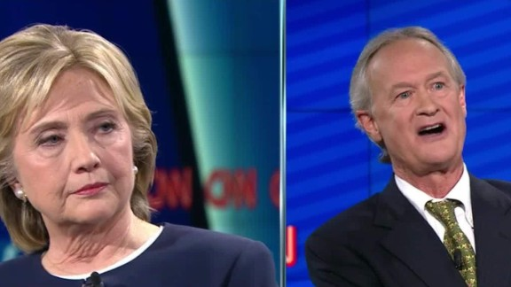 hillary clinton chafee democratic debate iraq war 15_00005411.jpg