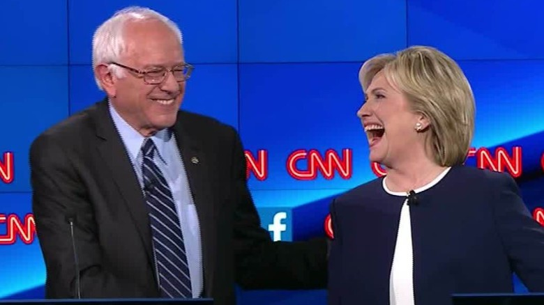 bernie sanders democratic debate sick of hearing about hillary clinton emails 19_00005521