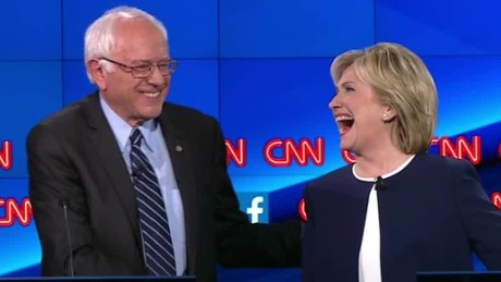 bernie sanders democratic debate sick of hearing about hillary clinton emails 19_00005521.jpg