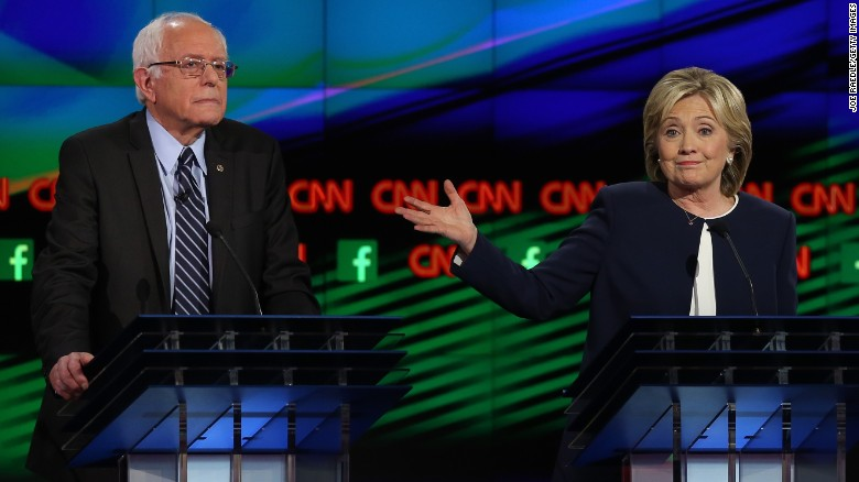 Bernie Sanders responds to Clinton's sexism claim