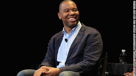 "Ta-Nehisi Coates' book ""Between the World and Me"" is up for a National Book Award."