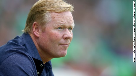 Southampton manager Ronald Koeman has been tipped as a future national manager