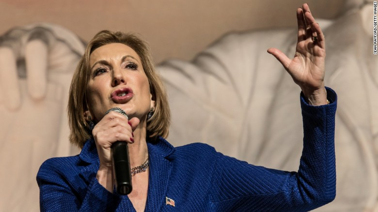 Carly Fiorina facing drop in polls