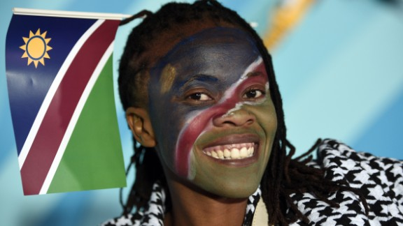 """The African team, made up mostly of semi-pros, won plenty of new fans despite finishing bottom of Pool C. Namibia <a href=""""http://edition.cnn.com/2015/09/24/sport/rugby-world-cup-new-zealand-namibia/index.html"""" target=""""_blank"""">tested the mighty All Blacks </a>and had an agonizingly close 17-16 defeat against Georgia."""