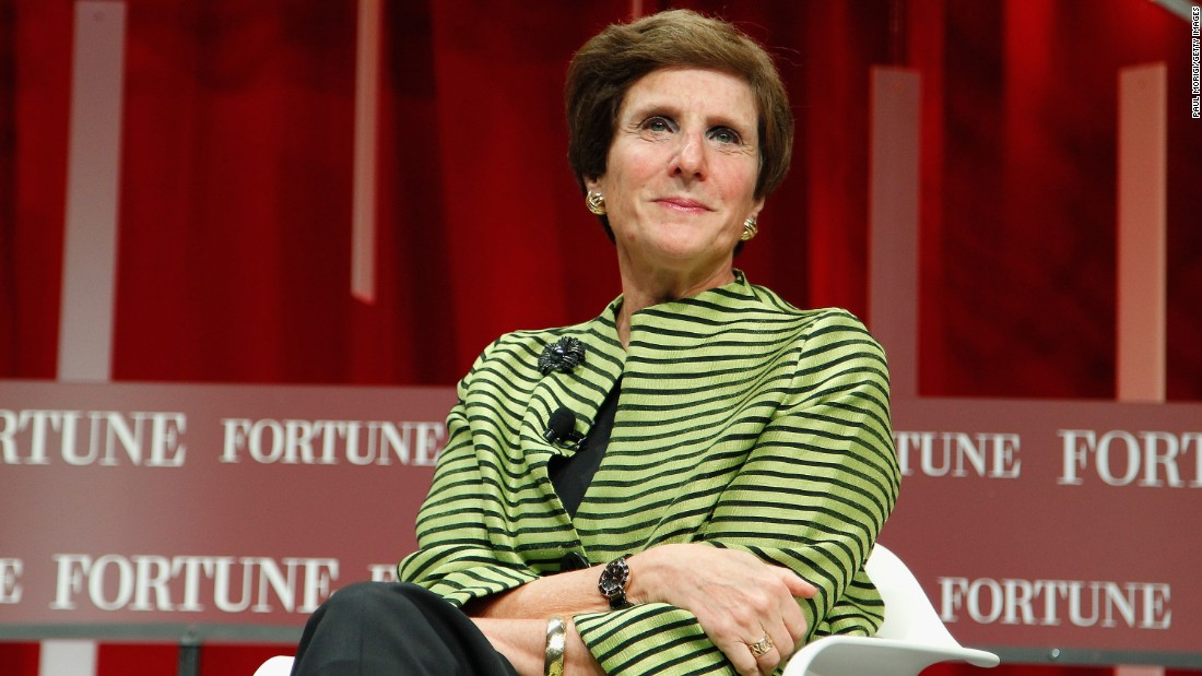 Irene Rosenfeld, chairman and chief executive officer of Mondelez International, played four varsity sports in high school -- volleyball, field hockey, softball and basketball -- and headed to Cornell University, where she played basketball.