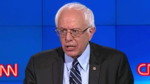 bernie sanders democratic debate va committee chairman_00002104.jpg