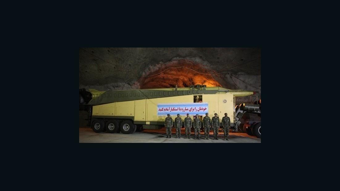 Iran >> Iran airs images of underground missile facilities - CNN