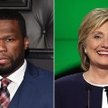 celebrity endorsements hillary clinton 50 cent