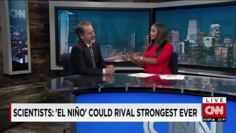Scientists: 'El Niño' Could Rival Strongest Ever