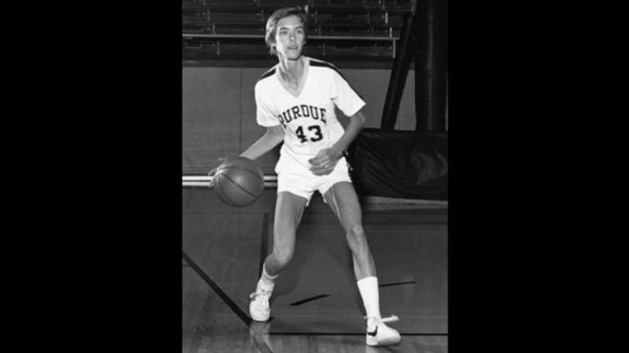 Beth Brooke-Marciniak of Ernst & Young played basketball for Purdue University in Indiana.
