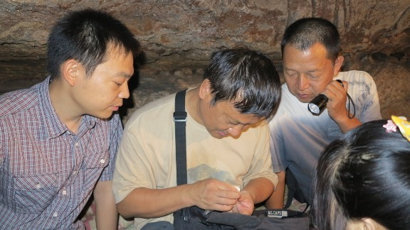 The research team now hope to DNA test the teeth to determine the origin of the Daoxian population.