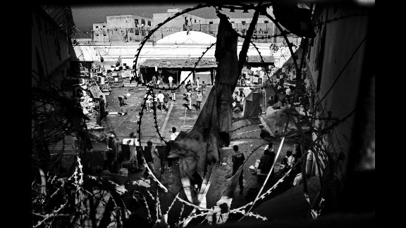 A penitentiary in Santiago, Chile, in 2008.