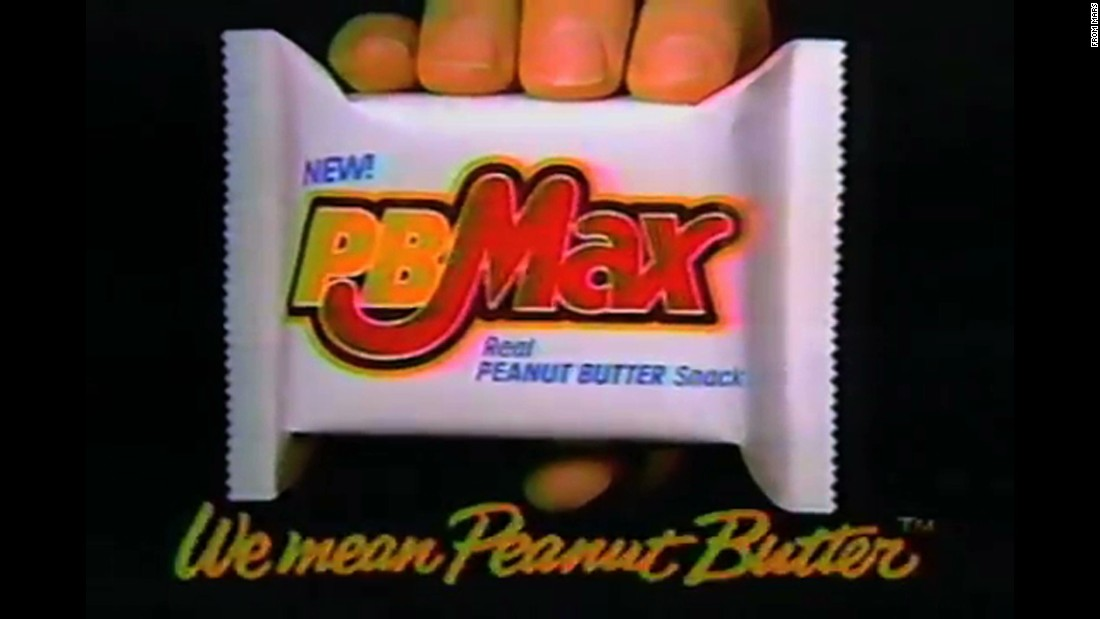 "PB Max was peanut butter to the max: The chocolate-covered bar also included oats and a cookie along with peanut butter. But the bar, introduced around 1990, was gone within a few years. These days,<a href=""https://www.facebook.com/RestorePbMaxToItsFormerGlory"" target=""_blank""> there's an active Facebook page</a> devoted to bringing it back."