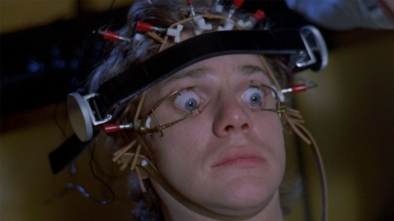 """Alex, the main character in Stanley Kubrick's 1971 adaptation of the Anthony Burgess novel """"A Clockwork Orange,"""" is one if the most famous depictions of someone being immobilized.<br />"""