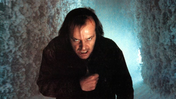 """Jack Nicholson's character succumbs to the common nightmare theme of evil forces in Stanley Kubrick's 1980 adaptation of Stephen King's """"The Shining."""""""