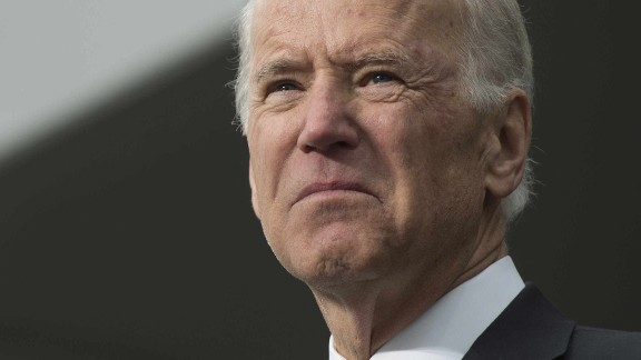 US Vice President Joe Biden speaks during the dedication of the Edward M. Kennedy Institute for the United States Senate in Boston, Massachusetts, March 30, 2015.   AFP PHOTO/JIM WATSON        (Photo credit should read JIM WATSON/AFP/Getty Images)