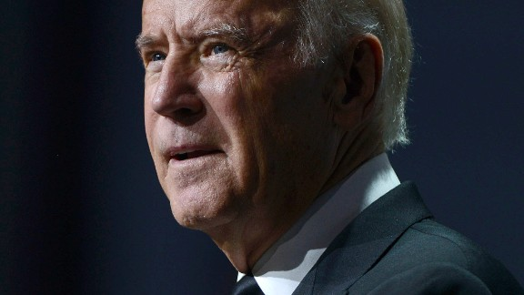 WASHINGTON, DC - OCTOBER 03:  Vice President Joe Biden speaks at Walter E. Washington Convention Center on October 3, 2015 in Washington, DC.  (Photo by Leigh Vogel/Getty Images)