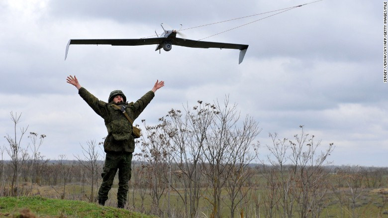 Russia Is Believed To Have About 800 Unarmed Drones Many Of Them Smaller Vehicles Similar