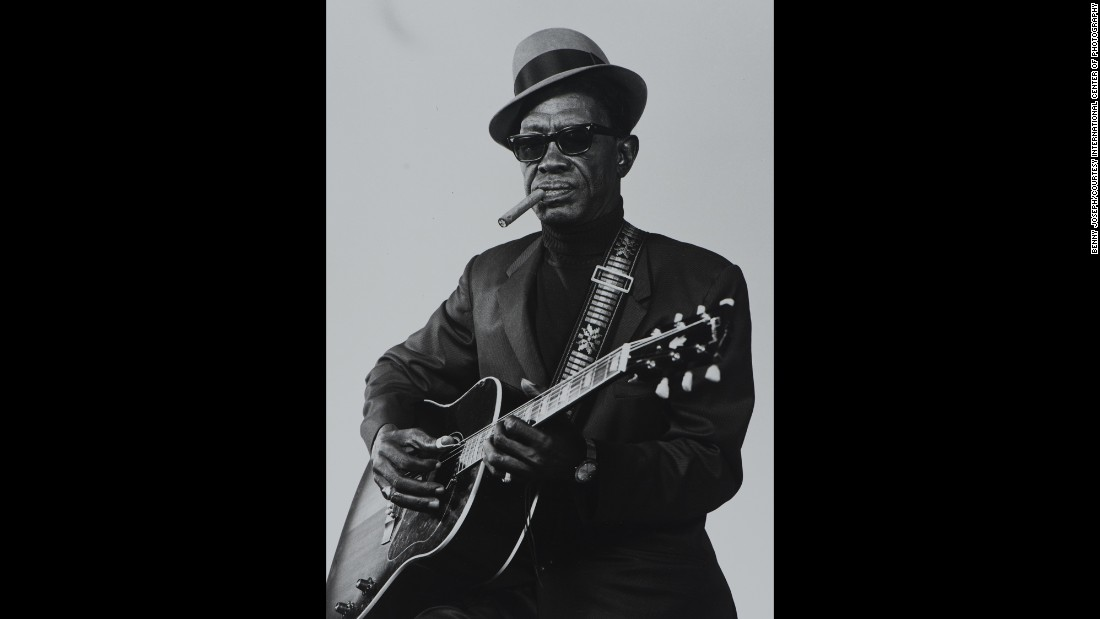 "The exhibit features a photo of country blues singer Sam ""Lightnin'"" Hopkins of Houston. Joseph's main source of income was studio portraiture, but like many photographers in his day, he had to do it all to make a living: portraits, snapshots, news, advertising, churches, parades, politicians, social groups, dances and musicians."