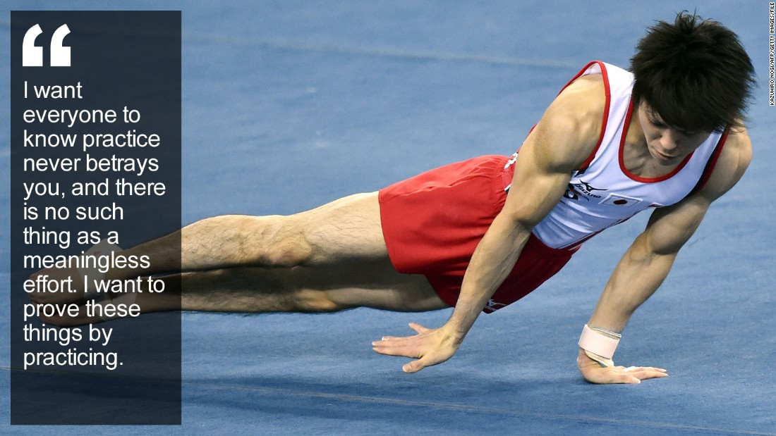 "In times of trouble, the world looks for superheroes -- and Japan has its own ""Superman."" Kohei Uchimura is a sporting superstar with a social conscience. <a href=""http://edition.cnn.com/2015/10/21/sport/kohei-uchimura-gymnastics-olympics-japan/index.html"" target=""_blank"">Read more</a>"