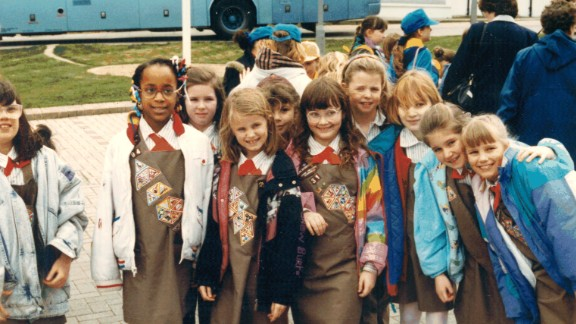 1990s: Girl Scouts introduced the technology badge in the 1980s, signaling the importance of girls' participation in STEM (science, technolgoy, engineering and math) programs.