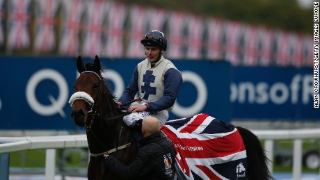 Fascinating Rock wins Champion Stakes