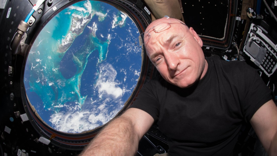 As of Friday, October 16, 2015, astronaut Scott Kelly has spent more time in outer space than any other American.