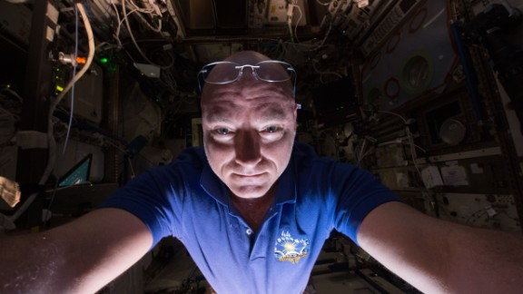 Kelly is currently more than halfway through a nearly year-long mission aboard the International Space Station.