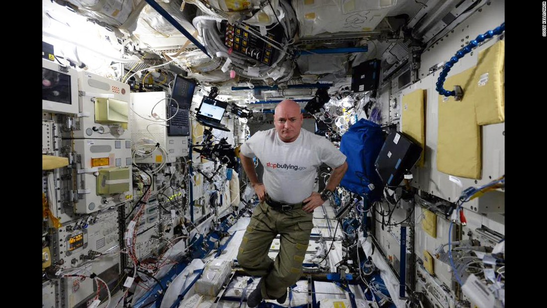 The mission is a chance for scientists to study how the human body responds to long-duration space flights, NASA says.