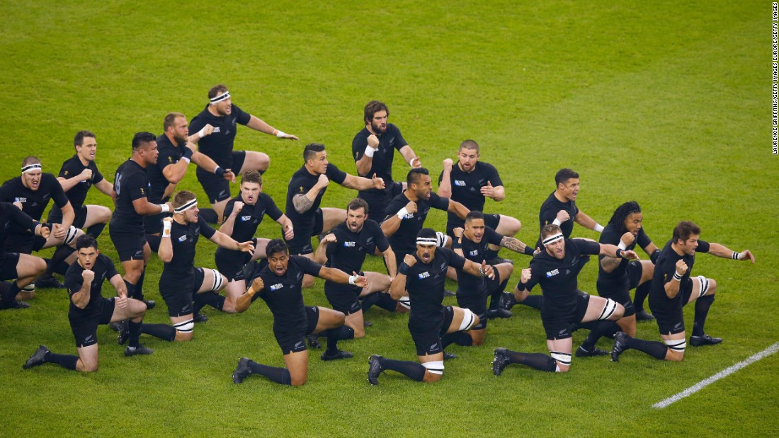 The All Blacks performed iconic 'Haka' ahead the match.