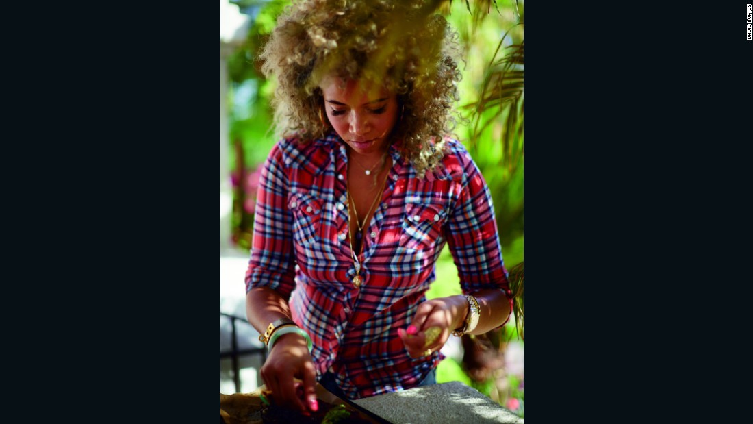After a decade in the music business, Kelis decided to invest in her own kitchen skills, and enrolled at the famous Le Cordon Bleu.