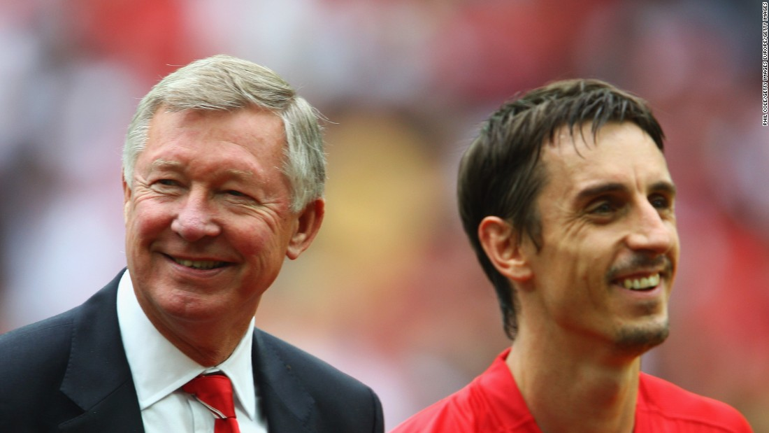 Neville enjoyed a successful playing career under Alex Ferguson at Manchester United. He retired in 2011 after making 602 appearances for the club and winning 85 caps for England.  He won the Champions League twice, eight Premier League trophies, three FA Cups and two League Cups during his time at Old Trafford.