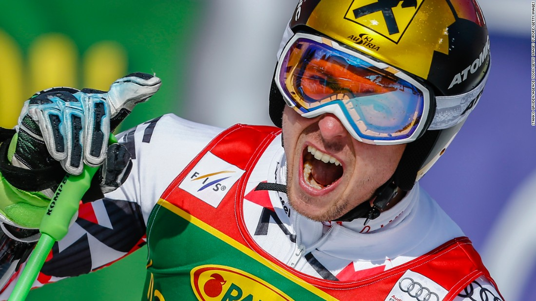 That particular accolade went to Austria's Marcel Hirscher, a slalom specialist whose idea of an off-season switch-off was to become embroiled in dirt biking, white water kayaking and climbing.
