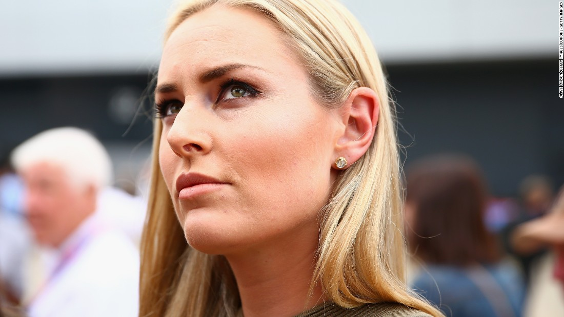 Vonn is aiming to compete at the 2018 Winter Olympics in South Korea. She won gold at the 2010 Games in the downhill.