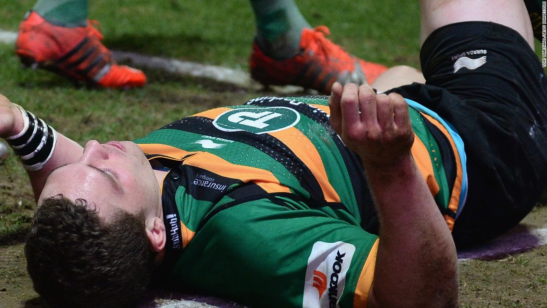 Concussion is a big talking point in rugby union. Reported incidents are up but the game's governing body, World Rugby, claims that is because diagnosis is better. Wales international George North was stood down by neurologists after suffering three heavy blows to the head over a short period o ftime and spent five months on the sidelines.