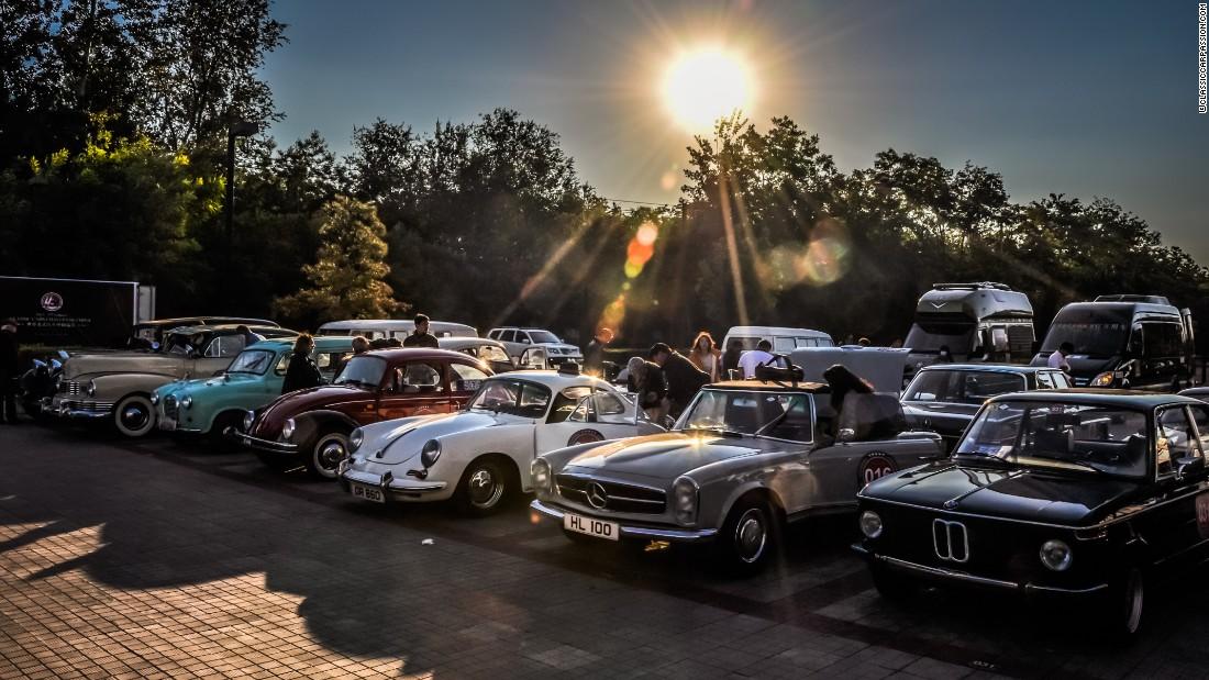Classic Cars Make Epic Trip Across China Cnn Style